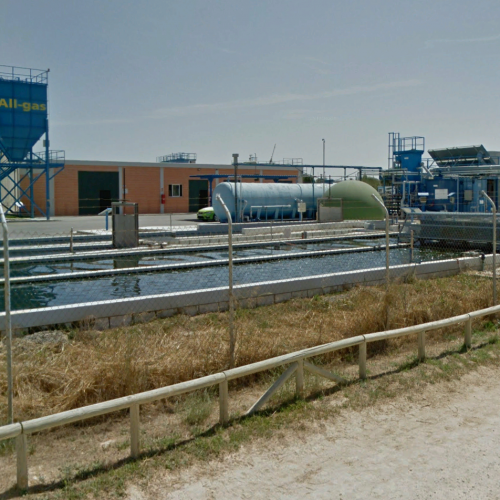 Planta prototipo de cultivo de biomasa de microalgas en la EDAR de Chiclana