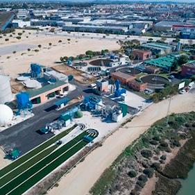 Planta prototipo de revalorización de la biomasa de microalgas en la EDAR de Chiclana