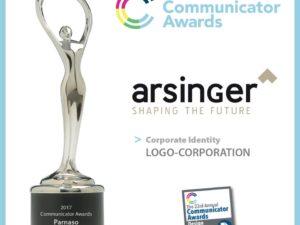 Arsinger recibe un importante galardón